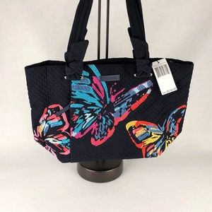 Vera Bradley Butterlies Embroidered Tote. RARE!!